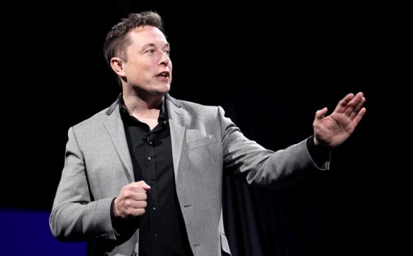 Elon Musk, the CEO of Tesla Inc