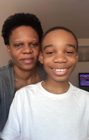 Jaden and Mom