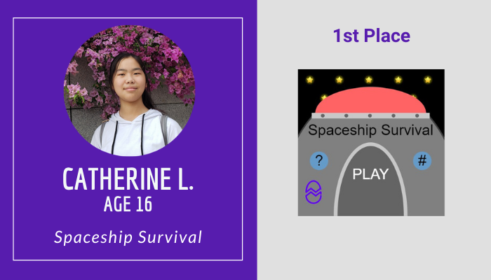 1st Place - Catherine L.