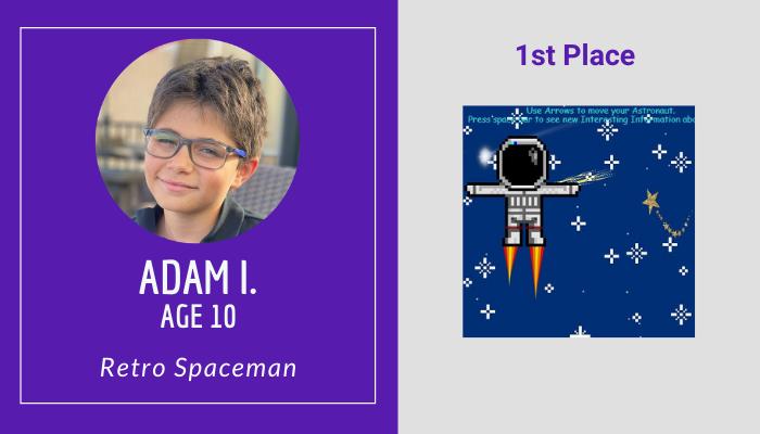 1st Place Visual - Adam I.