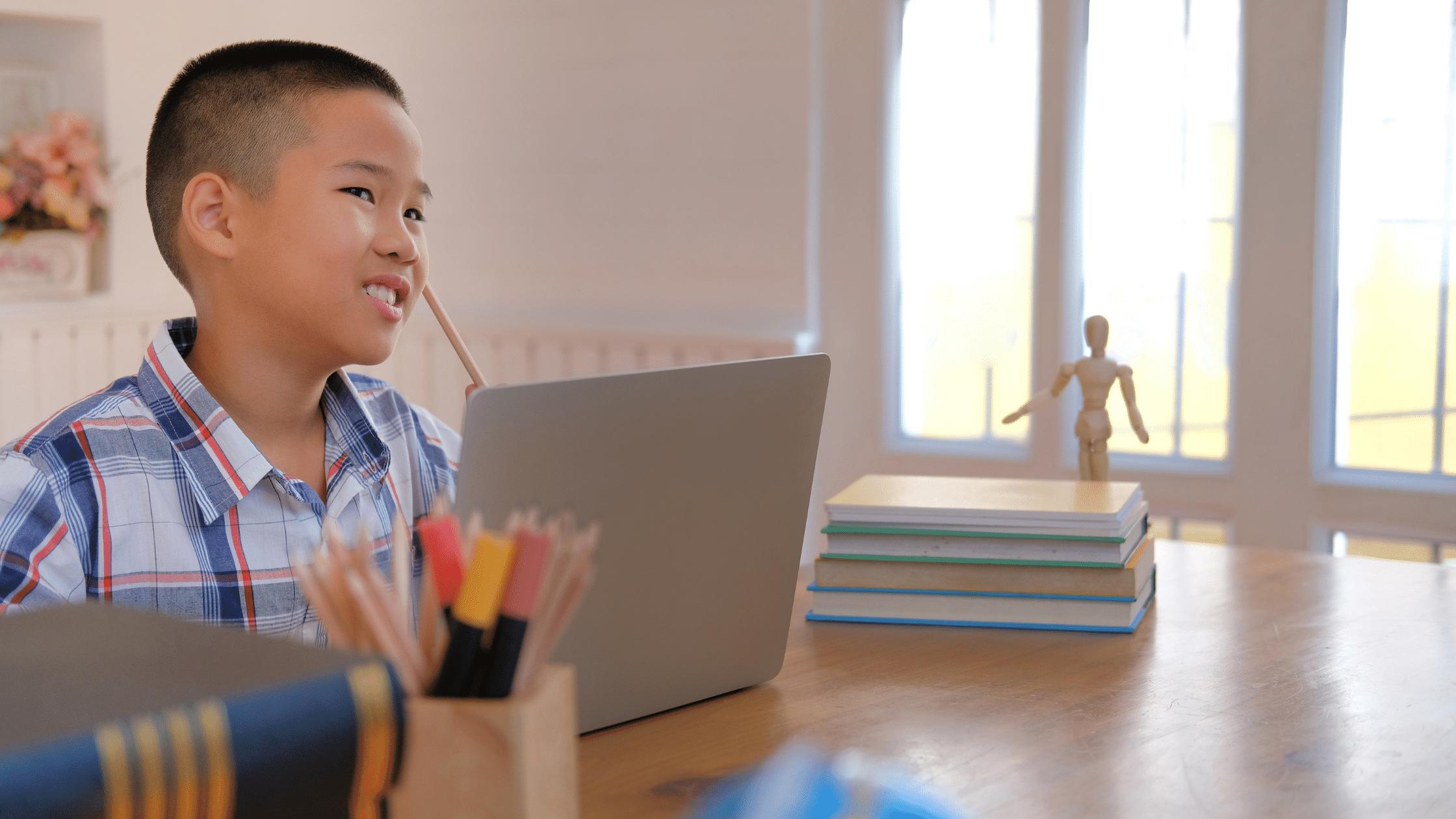 Kid problem solving through a coding challenge