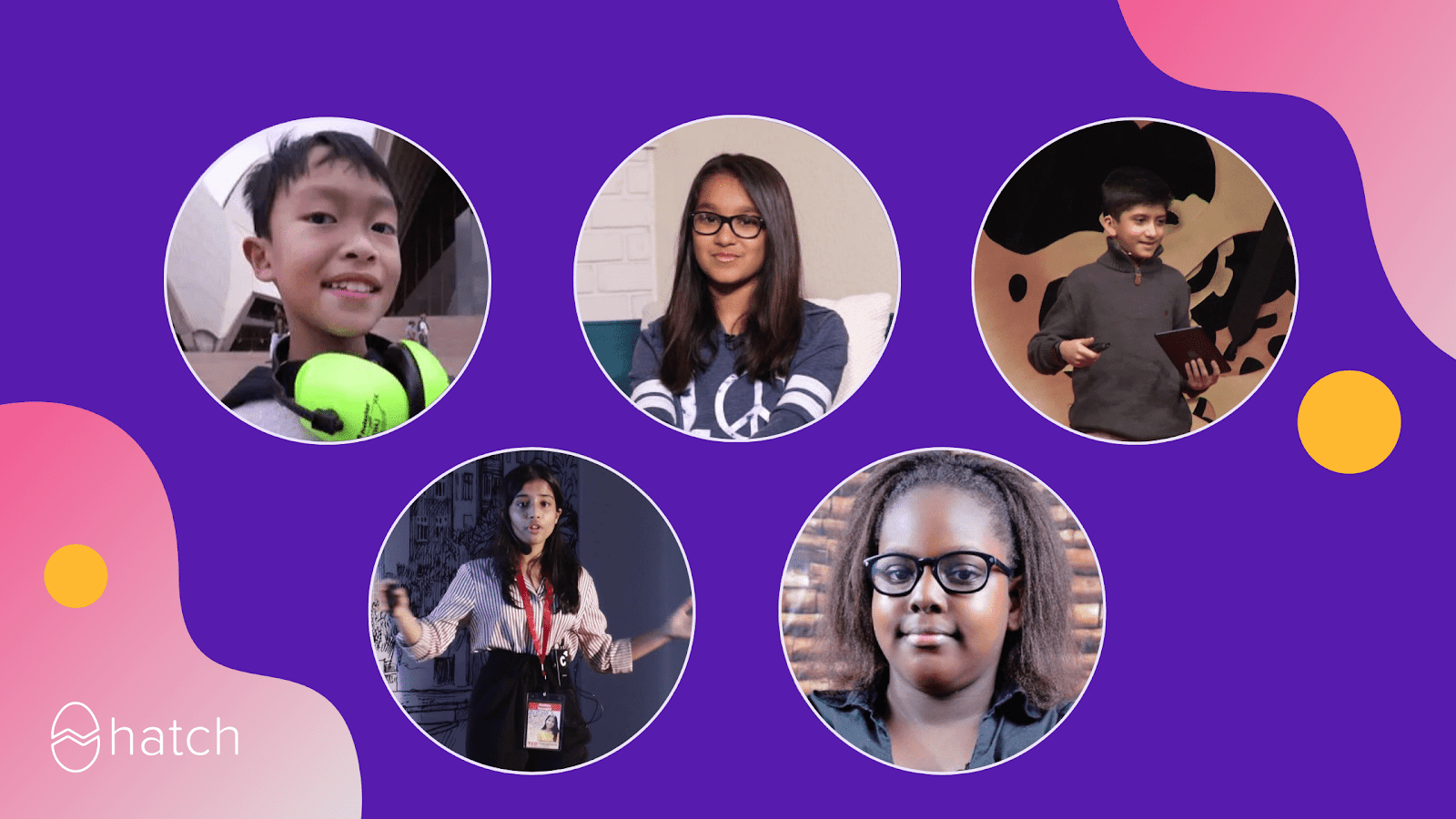 5 young and exceptional coders
