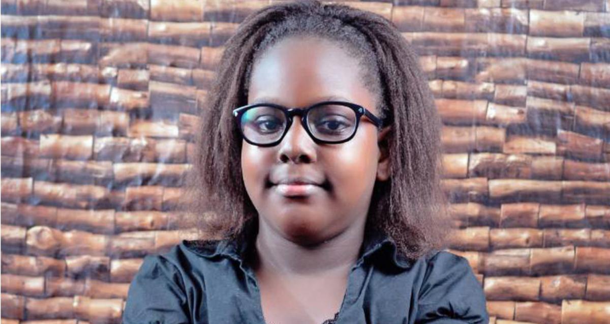 Young coder, Emmanuella Mayaki