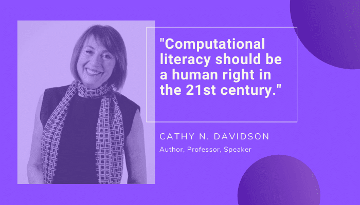 Cathy N. Davidson Quote on Computational Literacy
